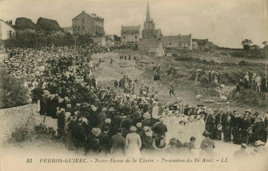 La bretagne en 1914 becedia - Office du tourisme perros guirec bretagne ...